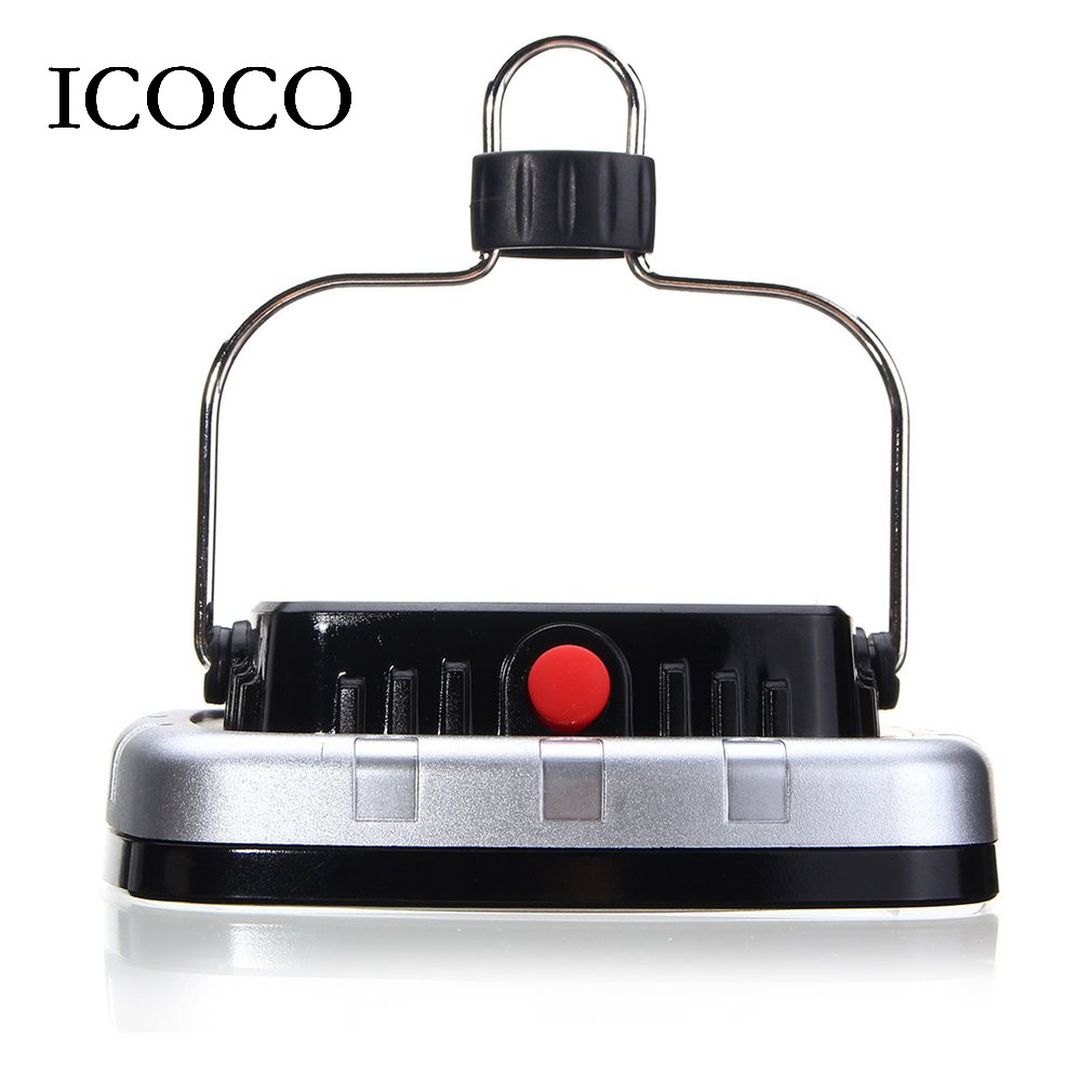 COB LED Solar Powered Light USB Rechargeable Camping Tent Lamp Portable Outdoor Garden Night Light for Hiking Travel hot selling