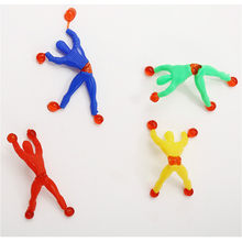 Classic Toys Toy Slime Viscous Climbing Spider-Man One Piece Action Figure Funny Gadgets PVC for Kids Toys Beauty Gift Joke(China)