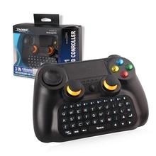 2.4G 3in1 Oyun Nəzarətçisi Joystick Gamepad Simsiz Android İnternet Mobil Telefonu üçün USB İnterfeysi və Bluetooth Tuş Pad