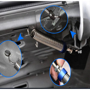 Image 2 - רכב Trunk הרמת מכשיר אוטומטי אביב מדבקת fit עבור fit עבור JETTA בורה Sagitar פאסאט סנטנה B5 CC Scirocco bettle