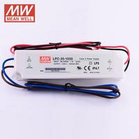 MEAN WELL LPC 35 IP67 LED Power Supply 700mA 1050mA 1400mA constant current waterproof 90~264VAC 33.6W led driver for lighting