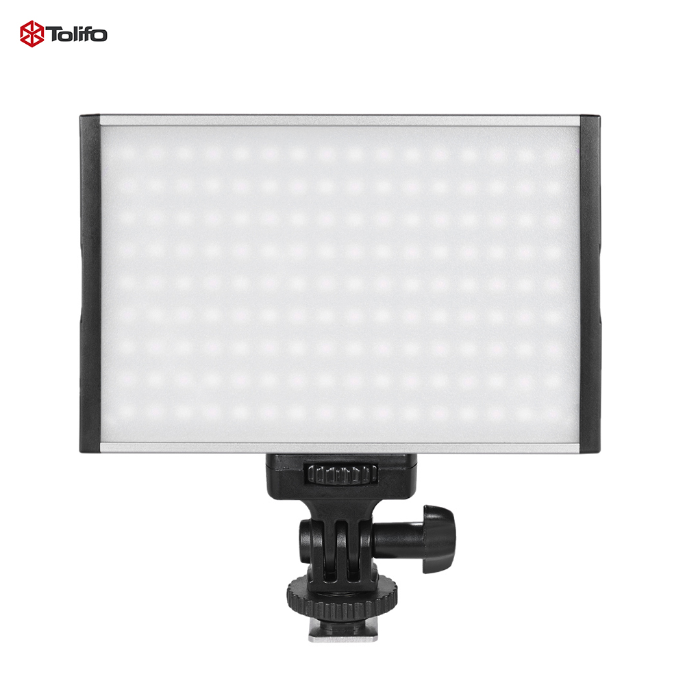 Tolifo PT 15B PRO II 15W LED Panel Light 3200K 5600K Ultra thin On Camera Lamp
