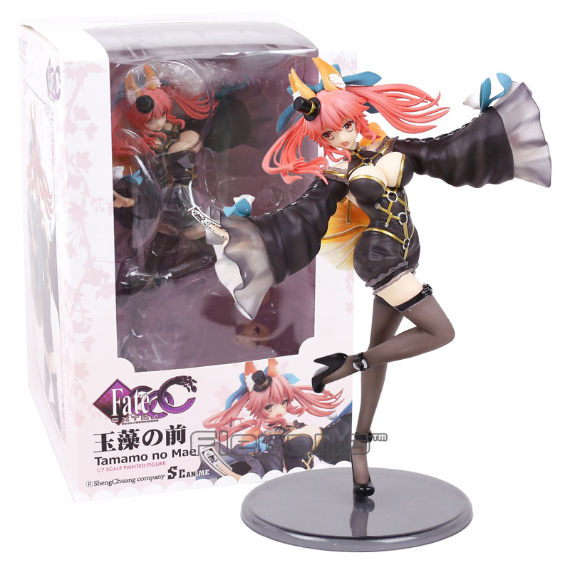 Fate/Extra CCC Caster Tamamo no Mae 1/7 Scale Painted Figure Collectible Model Toy fate extra ccc caster tamamo no mae 1 7 scale painted figure collectible model toy