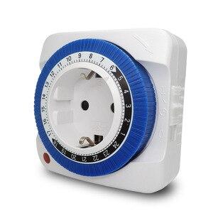 Image 2 - Tedesco Standard Meccanico Timer Intelligente Presa 24 ore Tempo di Commutazione del Controller
