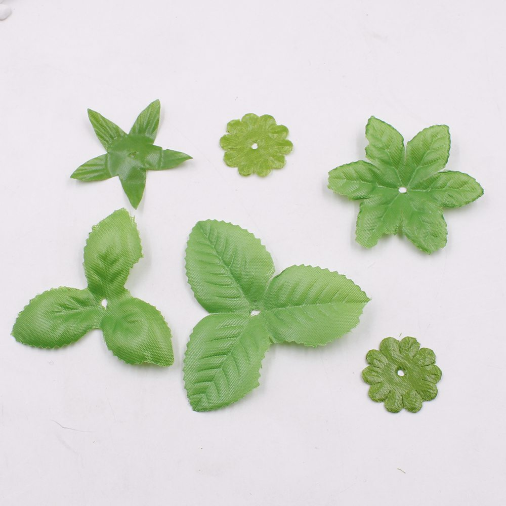 Artificial Leaves For Decoration Of 100 Pcs Lot Artificial Flower Torus Leaves For Wedding