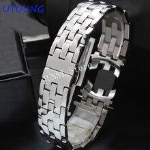 Kwaliteit Effen rvs heren Horloge band 20mm Luxe Armband Voor T97/T031 R463/363 Strap
