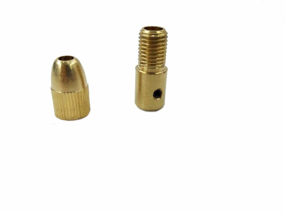 12pc / Set Mini taladro Chulet Chuck de latón para herramienta - Accesorios para herramientas eléctricas - foto 3