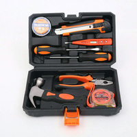 9 PIECE HOUSEHOLD TOOL SET