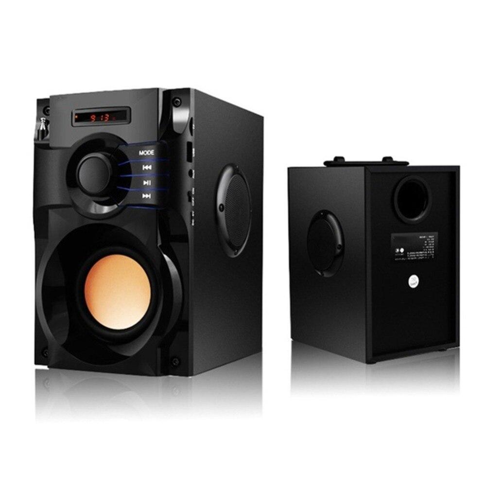 20 W Bluetooth haut-parleur sans fil stéréo caisson de basse haut-parleurs lourds lecteur de musique Support LCD affichage FM Radio TF Portable colonne