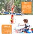 Ponteira de madeira jogo de puzzle brinquedos de interação pai-filho de madeira brinquedos das crianças ao ar livre