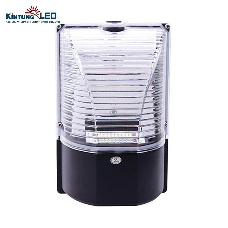 Livraison gratuite 20 W 2835SMD lampe de mur LED IP65 PF> 0.98 style moderne en aluminium noir éclairage extérieur pour les couloirs de lumière de jardin
