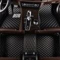 Personalizado esteras del piso del coche para Audi a4 b6 a6 c5 b8 A6L Q3 R8 q5 q7 s4 quattro a1 a2 a3 a4 a6 a8 coche stylingcar accesorio coche