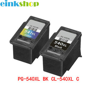 einkshop for Canon PG 540 CL 541 Black&Color Ink Cartridge PG-540 CL-541 For Canon MG2250 MG3150 MG4150 MX375 MX395 Printer