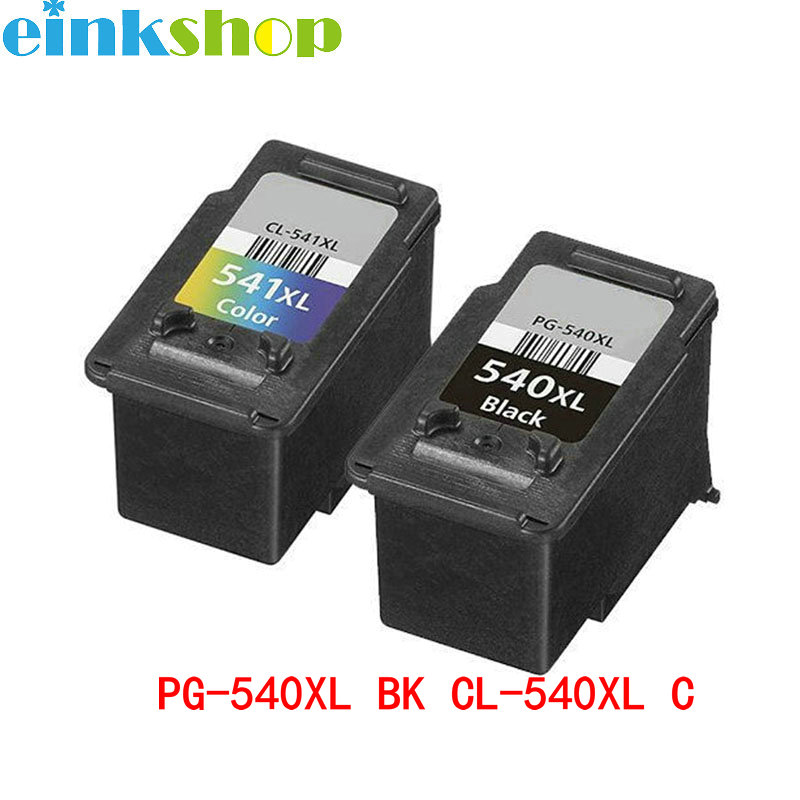 einkshop per Canon PG 540 CL 541 Cartuccia d'inchiostro nero e colore PG-540 CL-541 per Canon MG2250 MG3150 MG4150 MX375 MX395