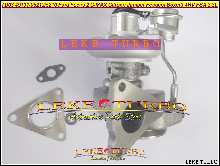 TD03 49131-05212 0375K7 Turbo For Ford For Focus 2 Fiesta VI HHJA HHUB 1.6L For Citroen Jumper For Peugeot Boxer 3 4HV PSA 2.2L (3)