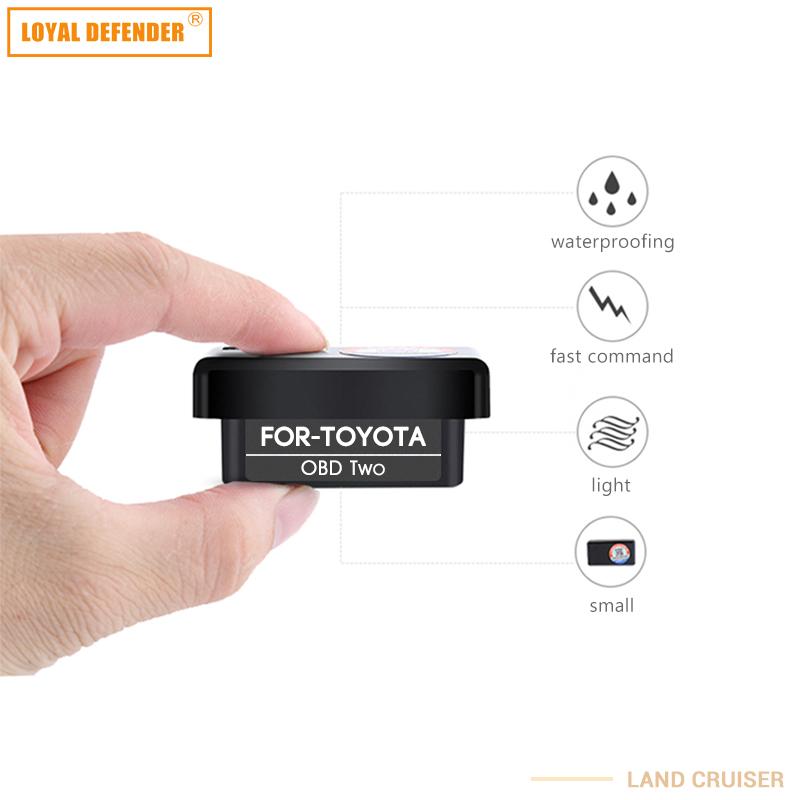 Coche OBD automático para Toyota plug and play cierre de ventana y - Autopartes - foto 4