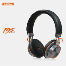 wireless Bluetooth headphone stereo Remax 195HB headset Bluetooth 4 1 music headset over the font b