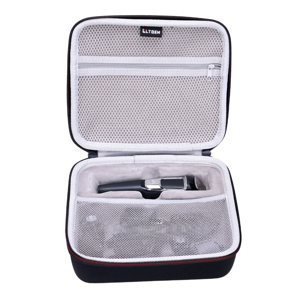LTGEM EVA Hard Case For Philips Norelco Multi Groomer MG3750 & MG7750 - Travel Protective Carrying Storage Bag