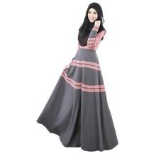 Fashion Woemn Party Cocktail Maxi Kaftan Abaya Jilbab Islamic Vintage Dress
