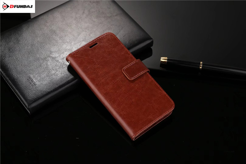MDFUNDAS Crazy Horse Leather Skin Cover For ZTE Nubia Z17s Case Z17 S Wallet Phone Bag Shell For ZTE Z17s Z17 Minis