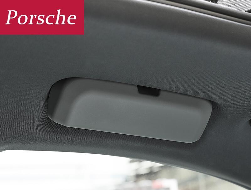 Bo/îte de rangement universelle pour lunettes de paresoleil de voiture , pour Porsche Cayenne Macan Macan S Panamera Cayman Carrera Porsche911918 Boxster