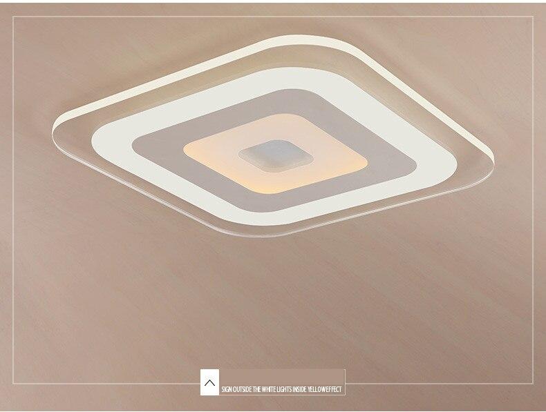 Luzes de teto modernas led para iluminação