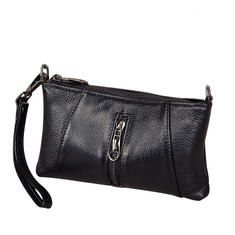 Genuine Leather Clutch Bag Women s Handbags Fashion Shoulder Bag Female Party Clutch Purse Luxury Crossbody