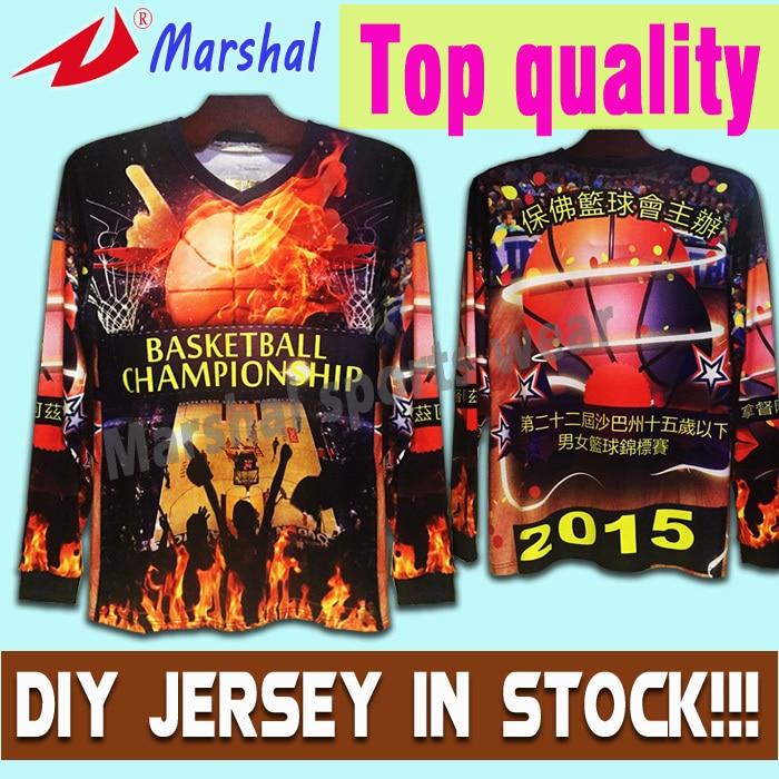Make Your Own Unique Colorful Shirt Sublimation Sport Player Top Quality Shirt