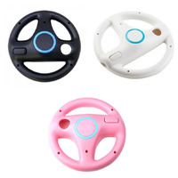 Kart Racing Game Steering Wheel Controller For Nintendo Wii Accessories Game Remote Controller 3 Colors