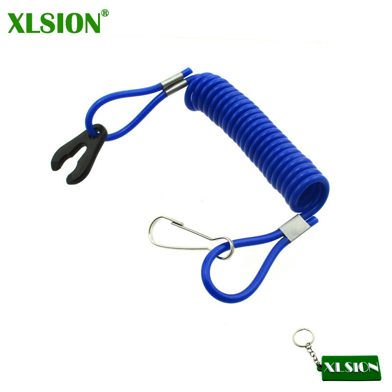 XLSION Lanyard-Cord Yamaha Ski-Boat Kill-Switch for Jet Raptor Banshee Blaster ATV Safety