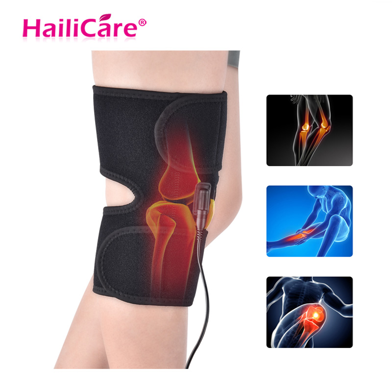Knee Brace Support Wrap Massager Infrared Heating Hot Therapy Arthritis Cramps Pain Relief Injury Recovery Knee RehabilitationKnee Brace Support Wrap Massager Infrared Heating Hot Therapy Arthritis Cramps Pain Relief Injury Recovery Knee Rehabilitation