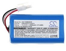 Кэмерон китайско 2600 мАч Батарея для iCLEBO YCR-M05, YCR-M05-P, YCR-M04-1, YCR-M05-10, YCR-M05-11, YCR-M05-20, m05-30, M05-50