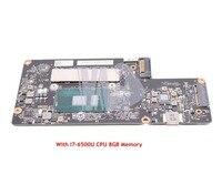 NOKOTION New For Lenovo yoga 900 13isk Laptop Motherboard SR2EZ I7 6500U CPU 8GB Memory BYG40 NM A411 FRU 5B20K48435