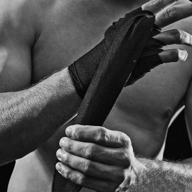 WorthWhile 1 Pair Cotton Kick Boxing Wraps MMA Wrist Straps