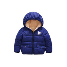 Children Girls Winter Coats Fashion Thick Velvet Jackets Cotton-padded Clothes Little Boys Doorout Jackets For Girls Outwear(China)