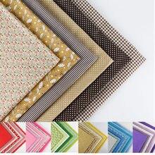 8 estilo de pano 50 cm x 50 cm tecido de algodão de impressão pacote DIY handmade colcha de retalhos de tecidos