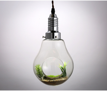 Americano luzes pingente de vidro vaso de decoração lâmpada personalidade criativa estilo Pastoral restaurante Art Deco iluminação