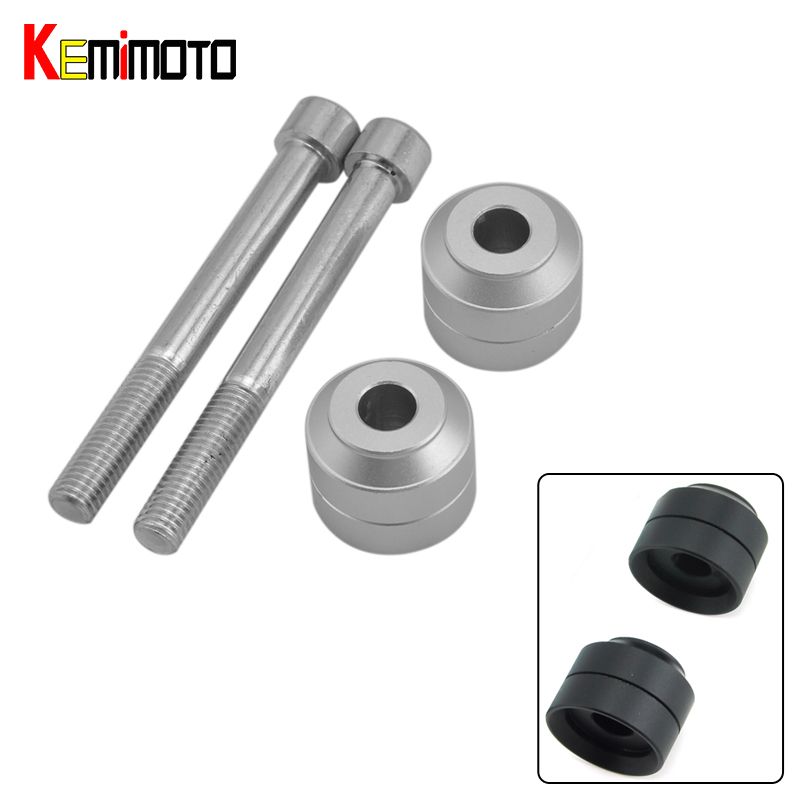 KEMiMOTO Рослость handlebar комплект перемещает планку 20мм для F700GS и BMW F800GS устройства f650 две аксессуары