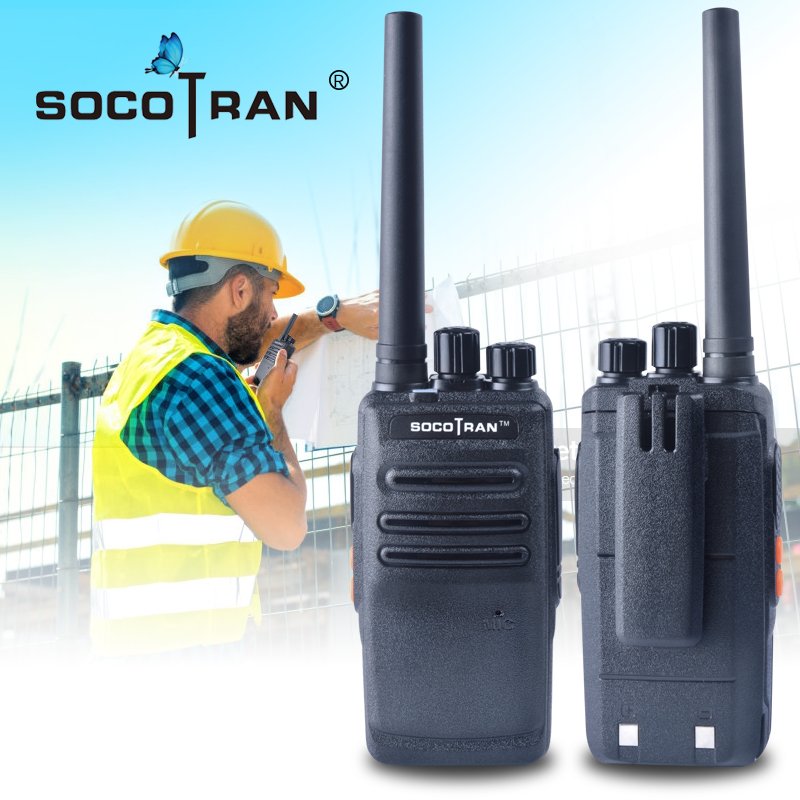 Ham Radio Comunicador Handheld Two Way Radio Station UHF 400-470MHz Walkie Talkie Portable Transceiver For Commercial Business