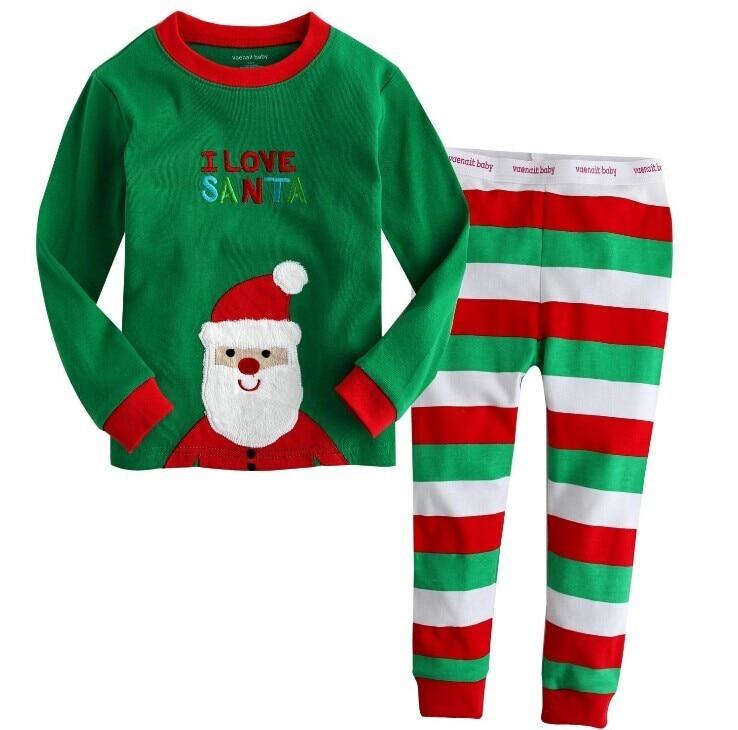 family christmas pajama sets Z18B-QS-5127