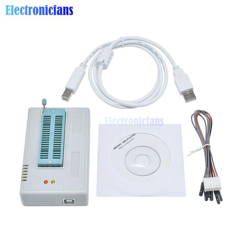 TL866II Plus EEPROM PIC AVR TL866A TL866CS USB universel BIOS nand programmeur 24 93 25 mcu Bios EPROM pour 1300 IC