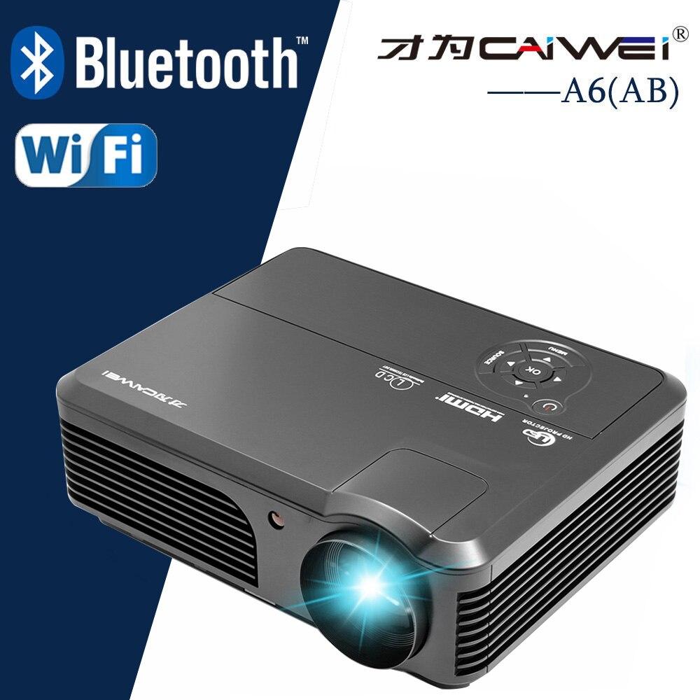 4200LM люмен ЖК-дисплей фильм проектор домашнего Театр Кино Мультимедиа Видео <font><b>LED</b></font> Proyector HD 1080 P Проекторы Бимер HDMI USB AV