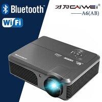 4200lm люмен ЖК-дисплей фильм проектор домашнего Театр Кино Мультимедиа Видео LED Proyector HD 1080 P Проекторы Бимер HDMI USB AV
