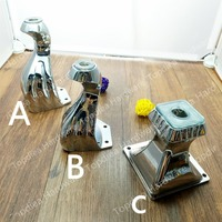 4pcs Metal Furniture Cabinet Tea Table Sofa Leg Feet 5 6 140mm Height
