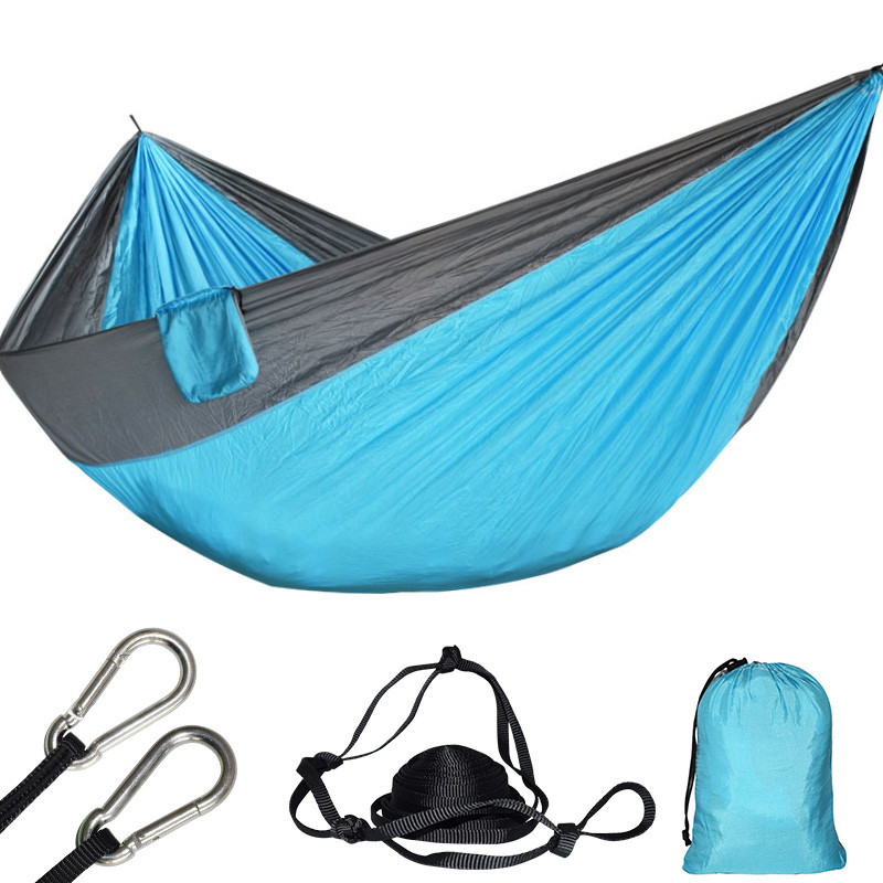 Super Large Parachute Hammock Portable Outdoor Survival Hamak Hanging Swing Sleeping Bed Chair For Garden Hunting Hamac