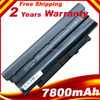 9 Cell 7800mAh Battery for Dell Inspiron M5010 M5030 N5010 N5020 N5110 13R 14R 15R 17R Laptop, free shipping
