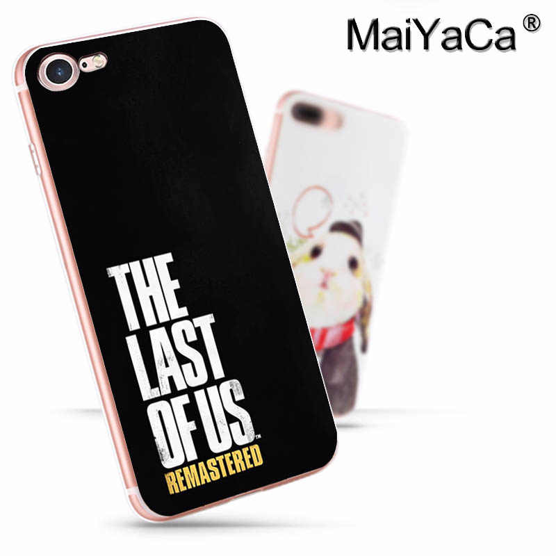 MaiYaCa آخر منا جزء 2 جديد وصول موضة غطاء إطار هاتف محمول آيفون 11 برو 8 7 66S زائد X 10 5s SE XS XR XS ماكس غطاء