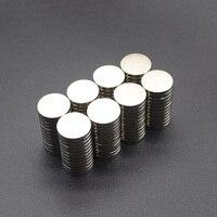 10 sztuk Mini małe N35 okrągły magnes 5x1 6x3 8x3 10x1 10x2 12x2mm neodymowy magnes stały neodymowy super silny potężne magnesy w Materiały magnetyczne od Majsterkowanie na