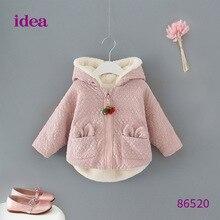 Baby girl clothes winter hoodies coat vestidos kids vestido infantil hoodie ropa bebek de mujer
