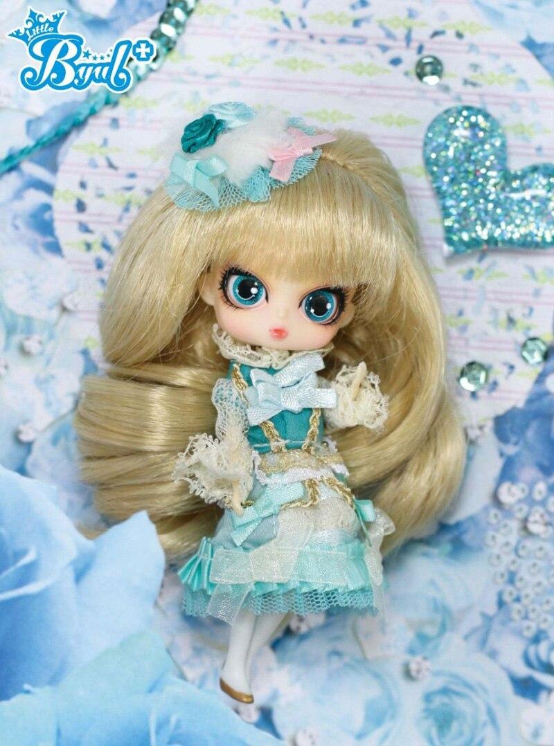 リトルプーリップ王女ミントボックスと美しいドレスミニ人形ガールギフト素敵なおもちゃ  グループ上の おもちゃ & ホビー からの 人形 の中 3